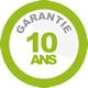 10 ans de garanti