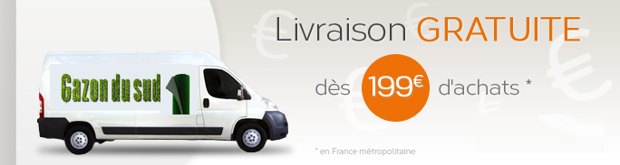 livraisonr gratuite a partir de 199 €